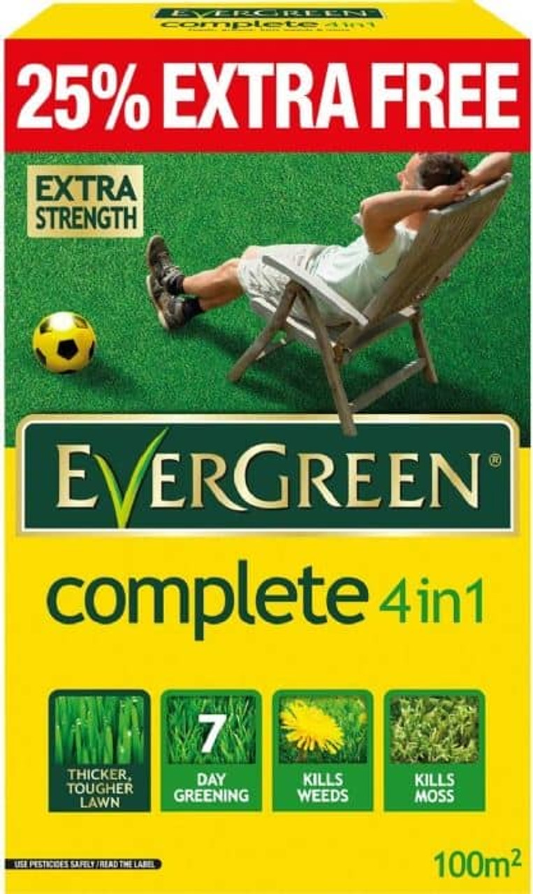 Evergreen Complete 100sqm Feed Weed & Mosskiller