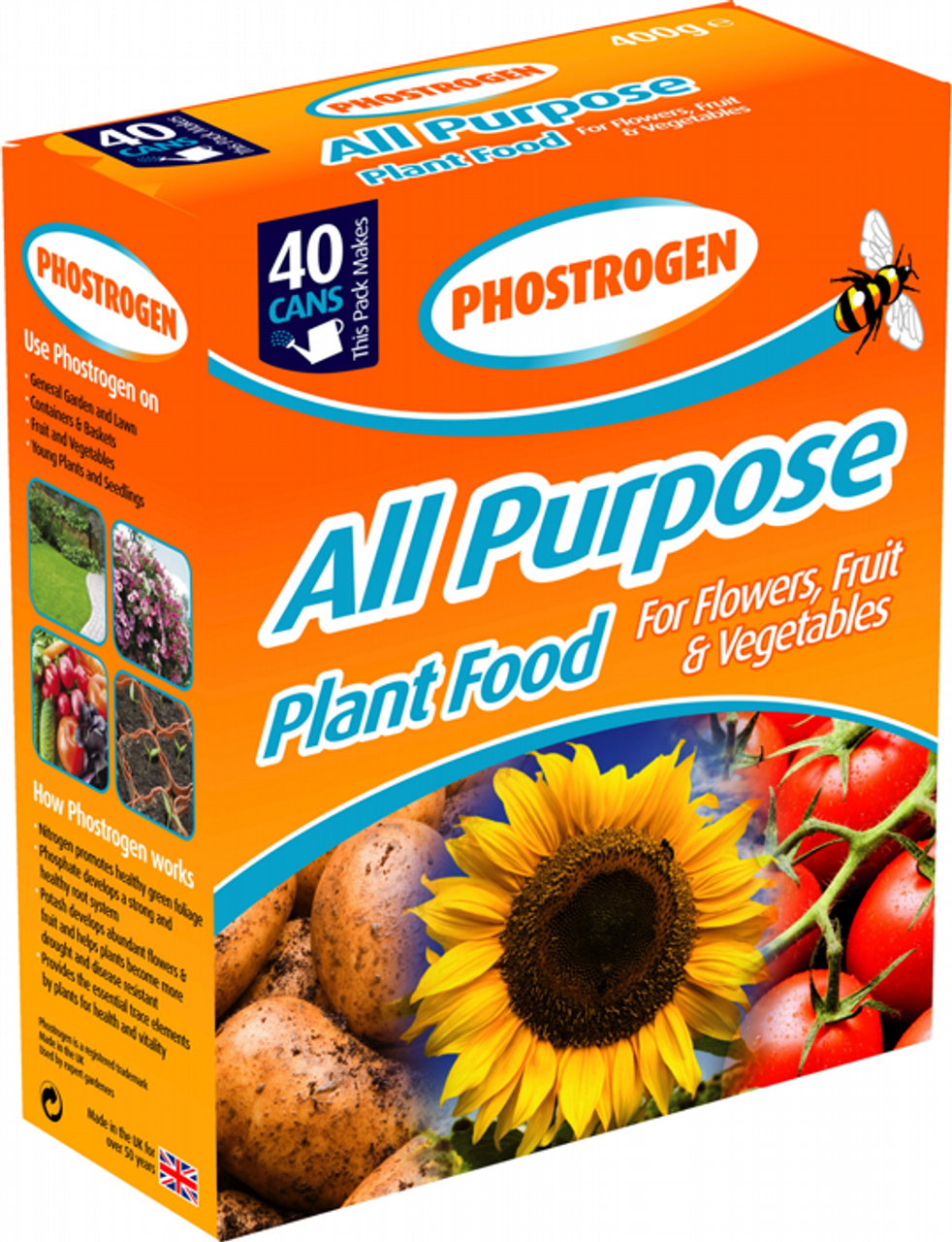 Phostrogen 400g Soluble Plant Food 40can
