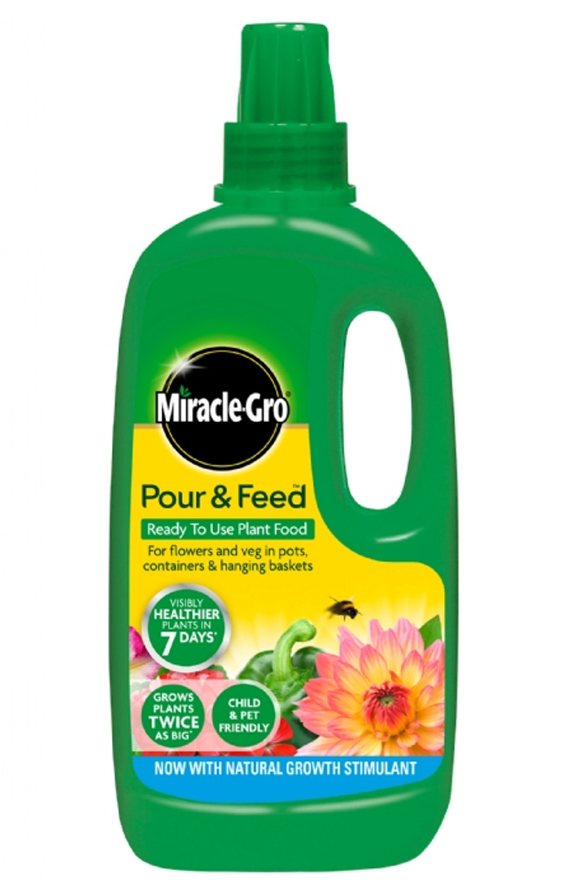 Miracle Gro 1Ltr Pour & Feed