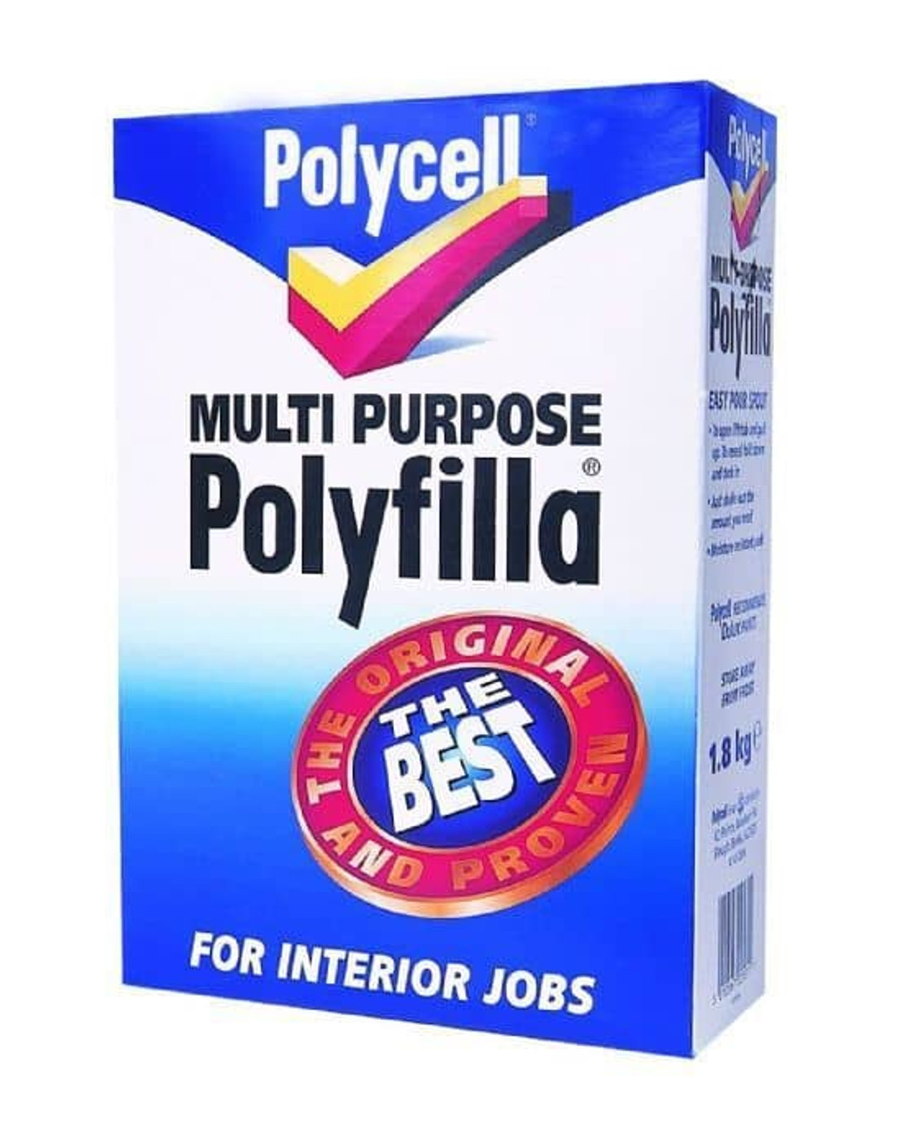 Polycell 1.8kg Polyfilla Multi-Purpose Powder
