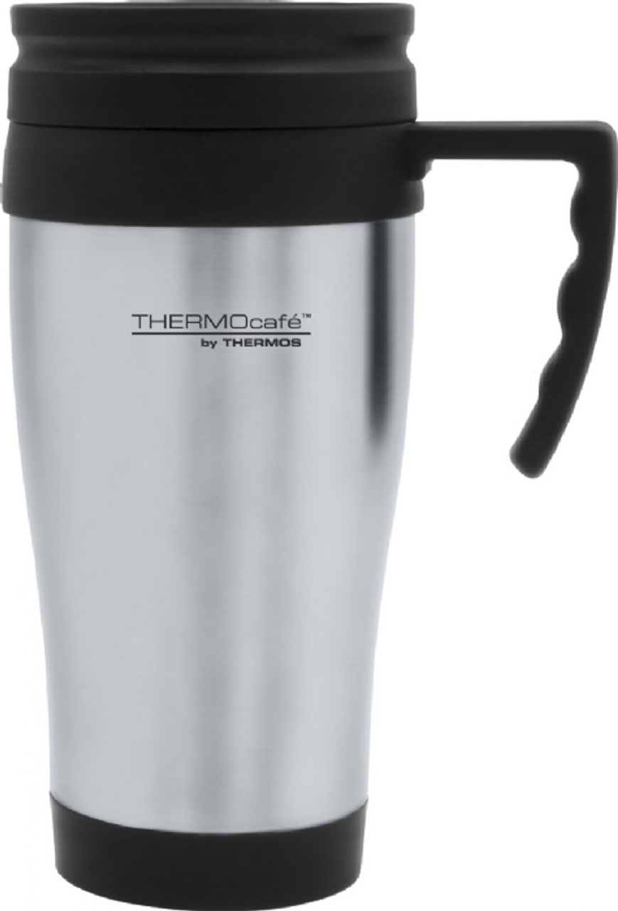 Thermocafe Insulated Travel Mug S/Steel
