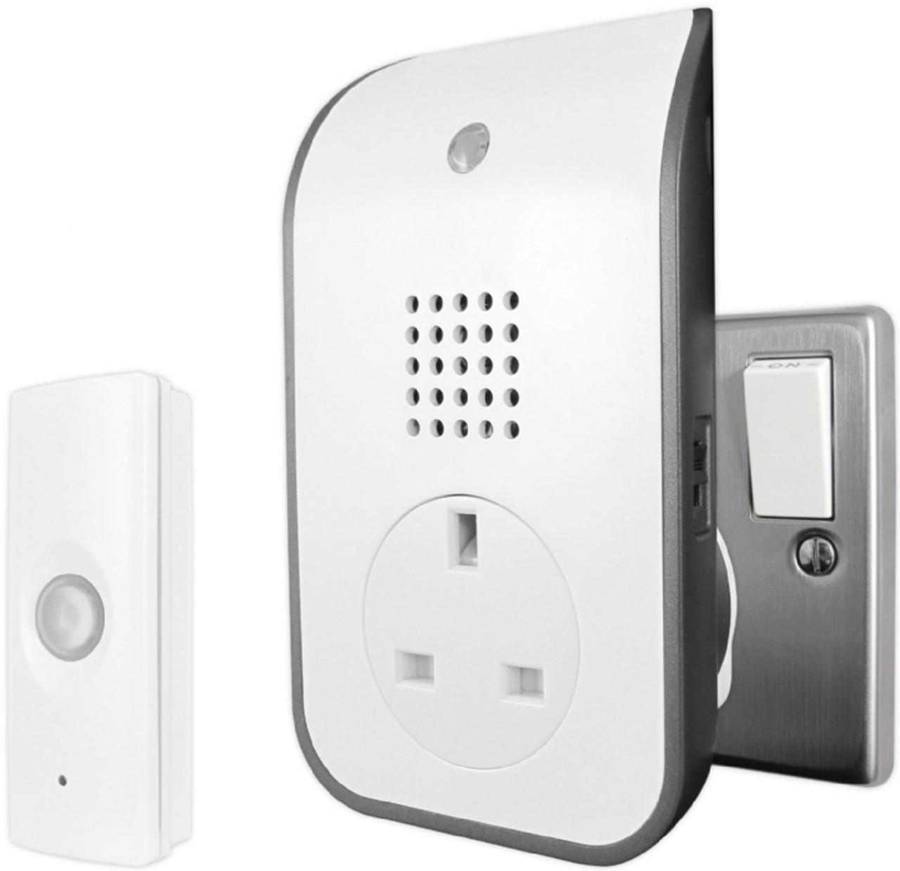 Uni-Com 120m Range W/ Free Doorchime Plug Through