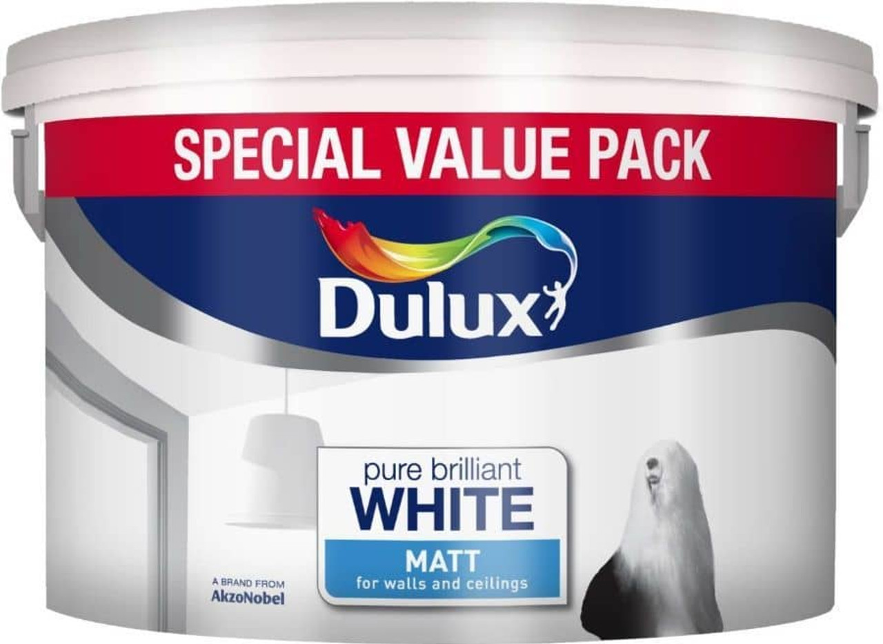 Dulux 7Ltr V/Matt Pure Brilliant White