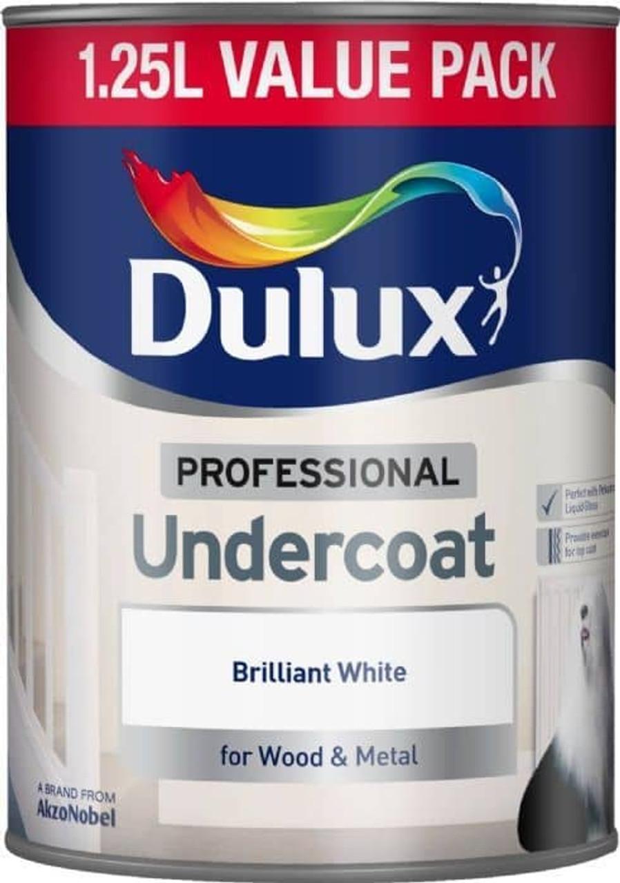 Dulux 1.25Ltr Undercoat PBW
