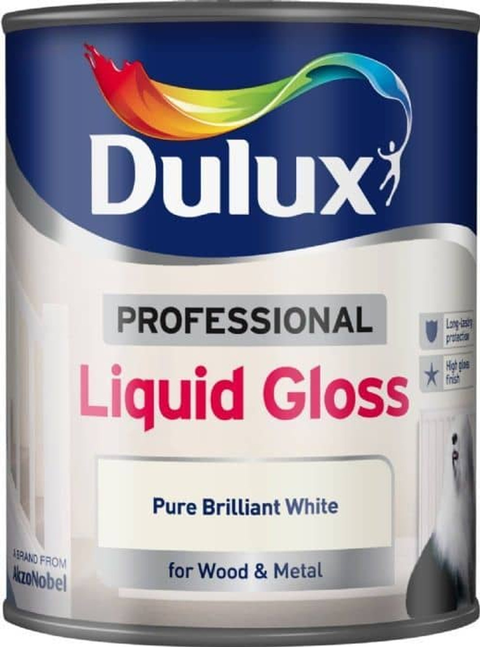 Dulux Professional 750ml Gloss Pure Brilliant White
