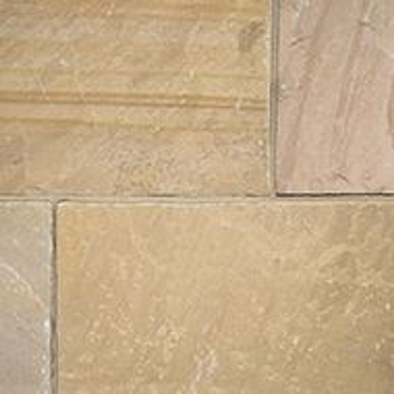 Callibrated Natural Stone Harvest/CAMEL Patio Pack (15.25m2)   -  LOCAL DELIVERY ONLY