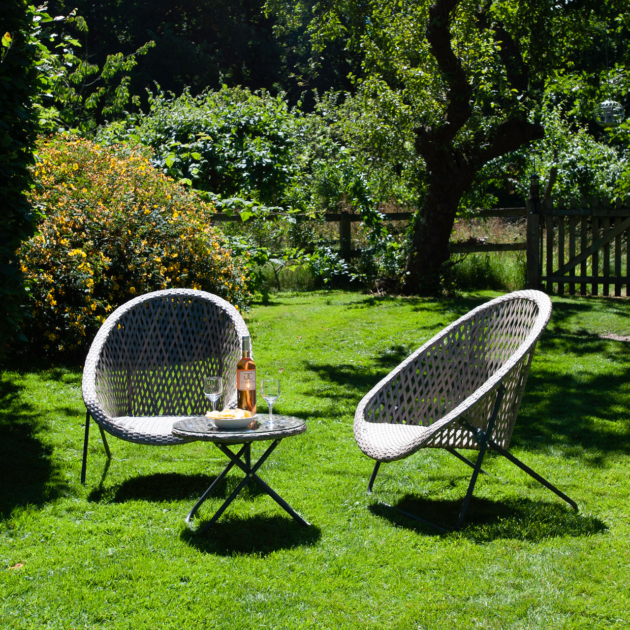 Tobs 3 Piece Garden Set - Woodland Green - LOCAL DELIVERY ONLY