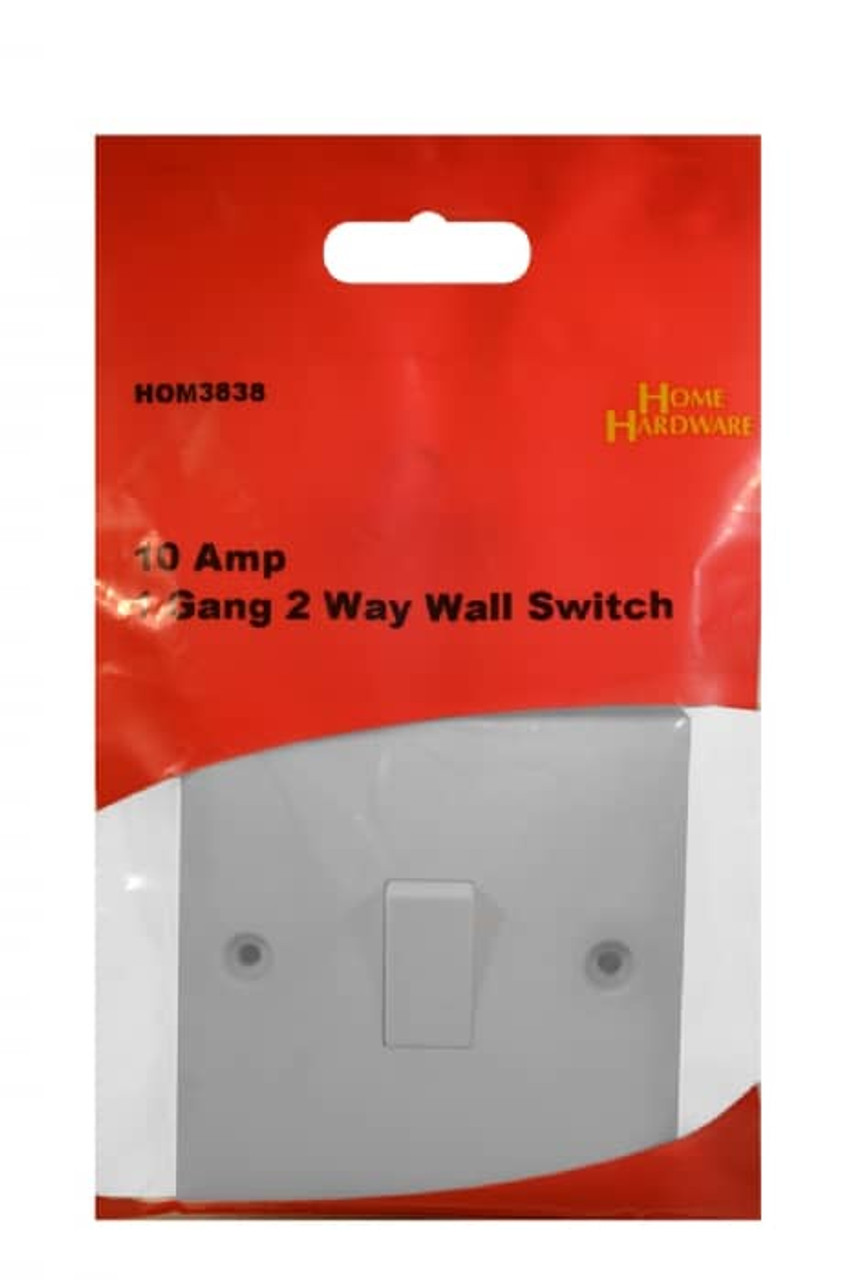 10 Amp 1 Gang 2 Way Wall Switch