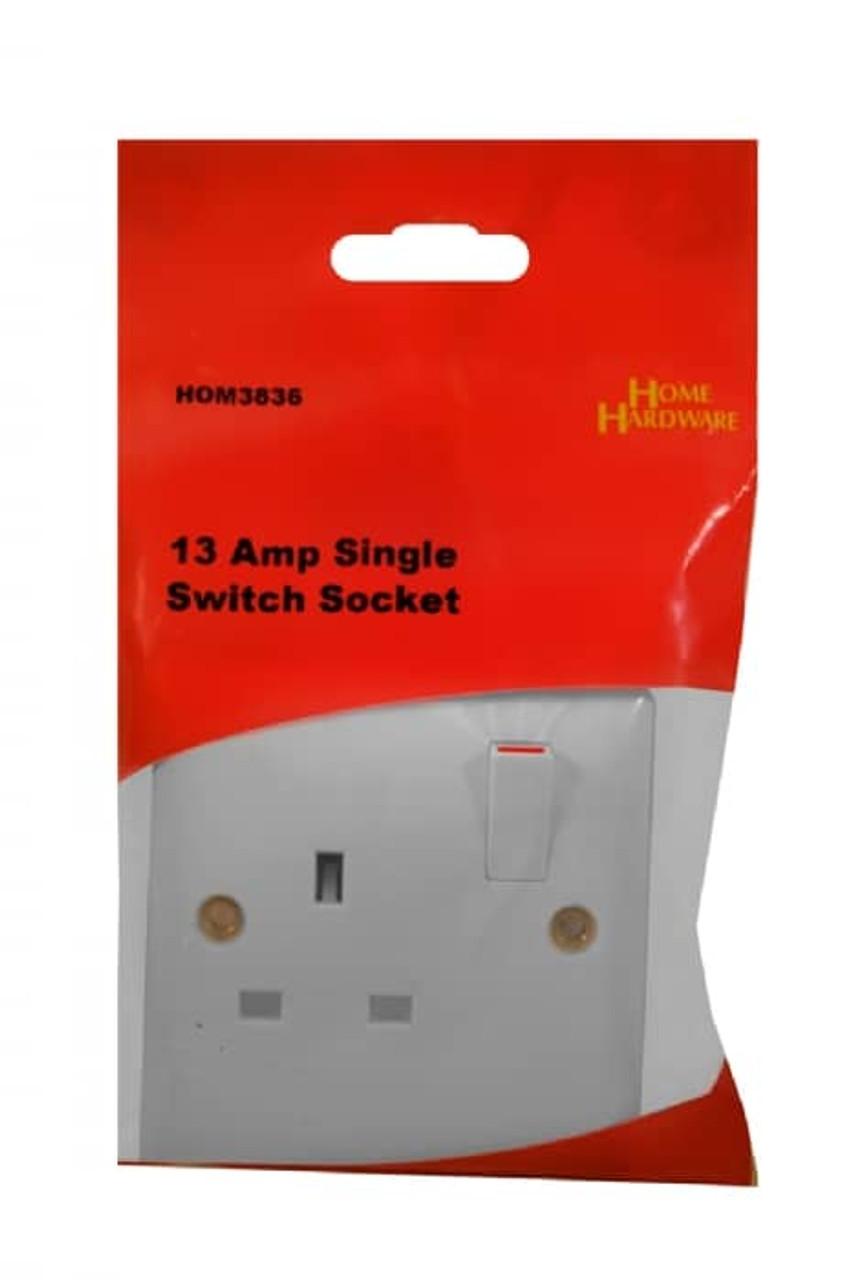 13Amp Single Switch Socket