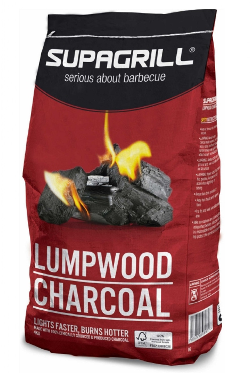 Supagrill 4kg Lumpwood Charcoal
