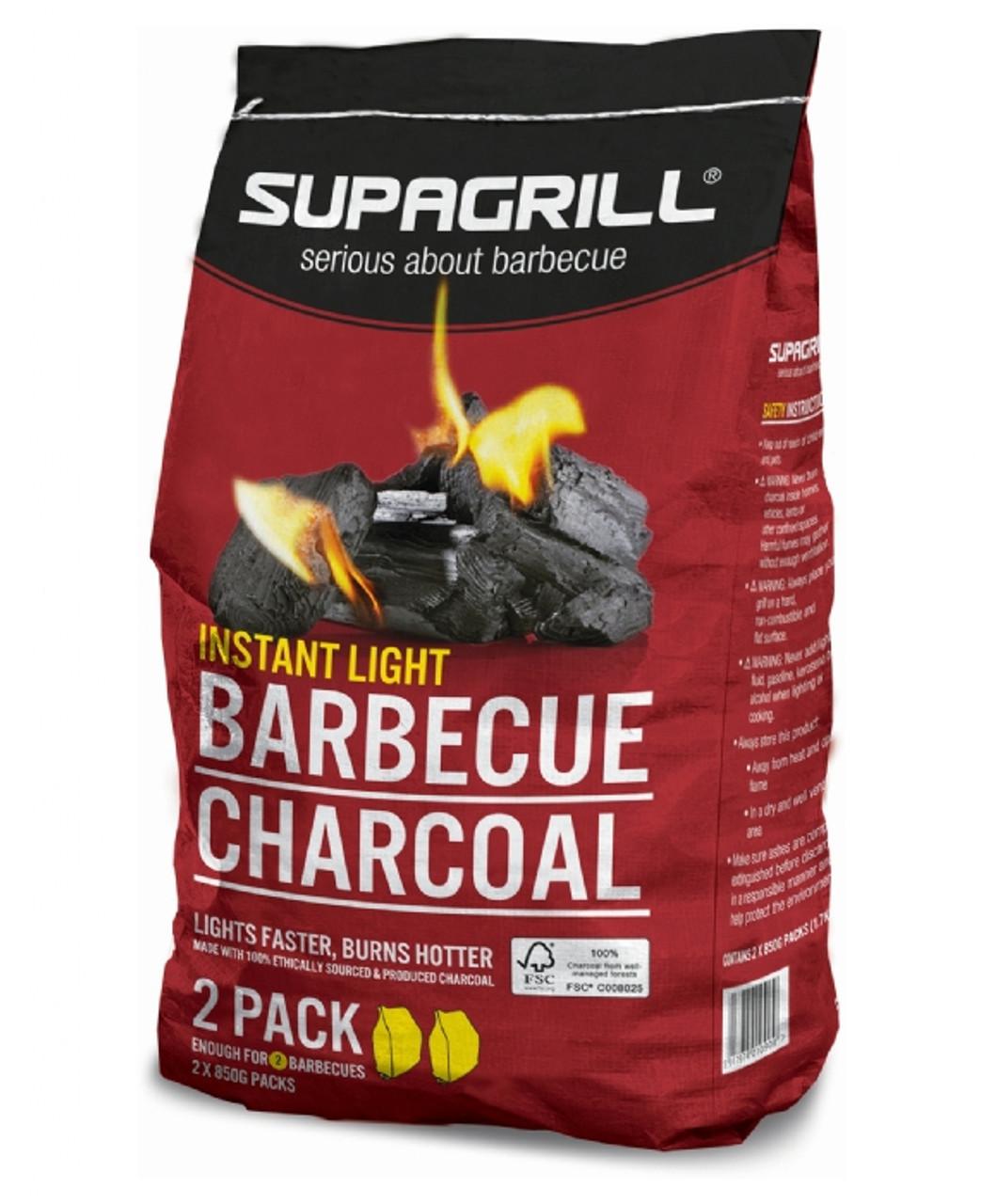 Supagrill InstantLight Charcoal 2kg