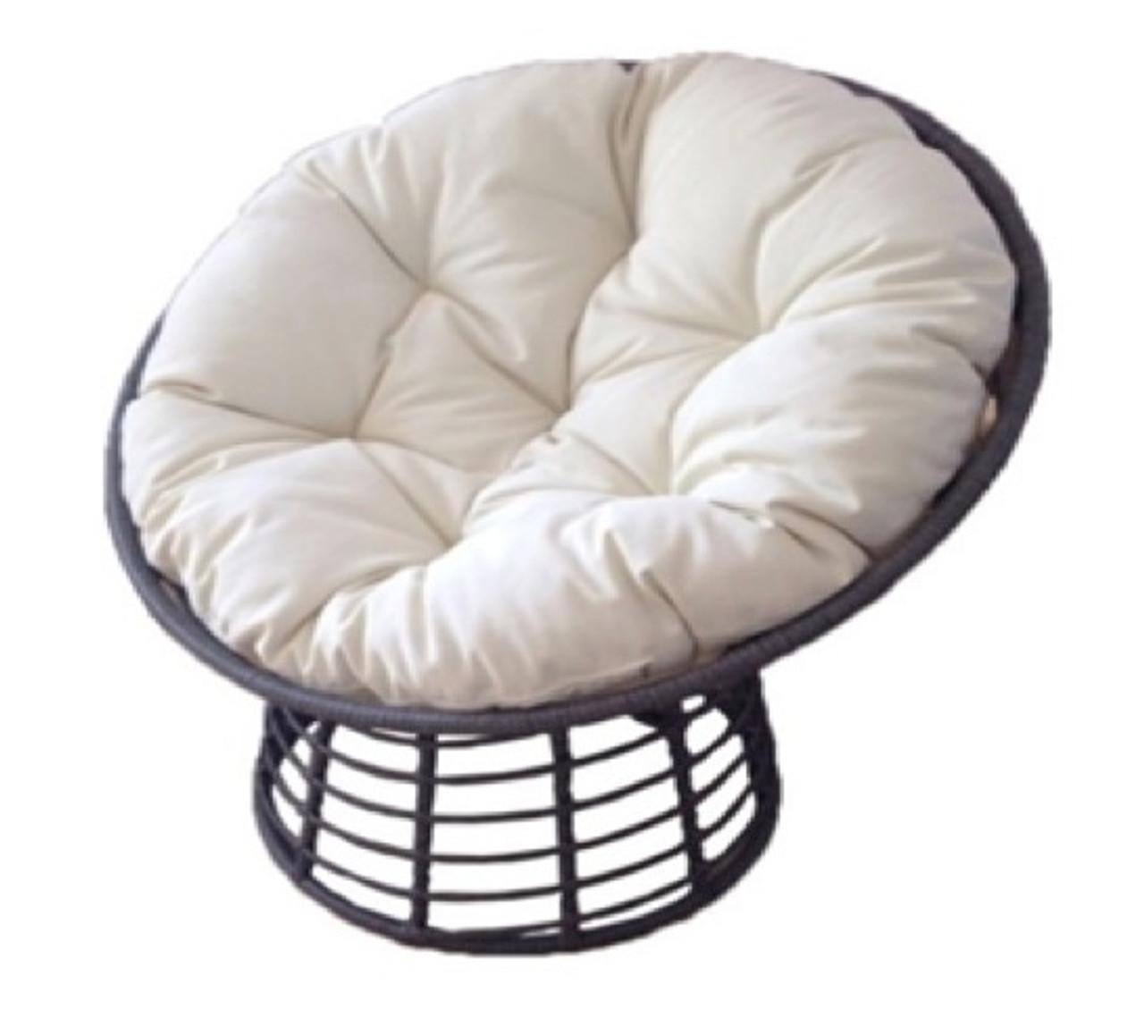 SupaGarden Swivel Rattan Chair