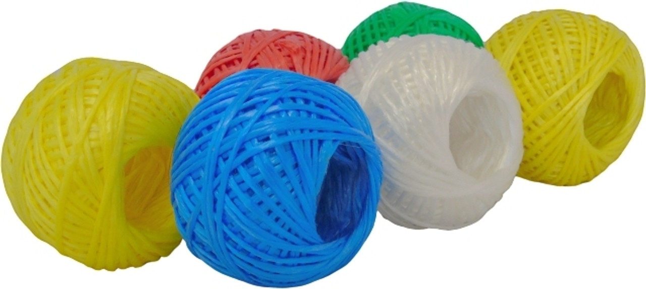 Coloured Poly Twine 48m