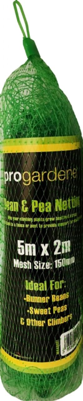 Bean&Pea Net 5m x 2m Green