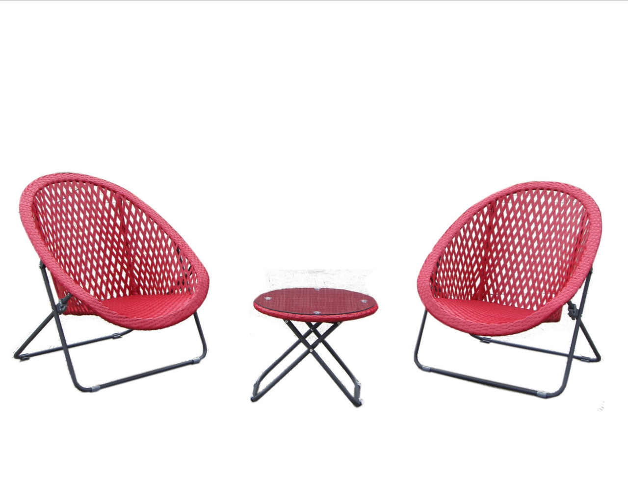 Tobs 3 Piece Garden Set - Red - LOCAL DELIVERY ONLY