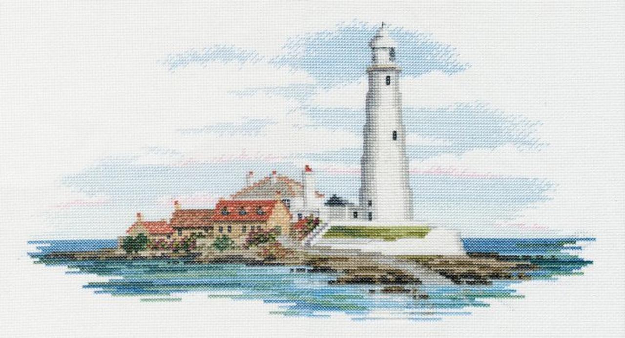 St Mary's Lighthouse cross stitch kit