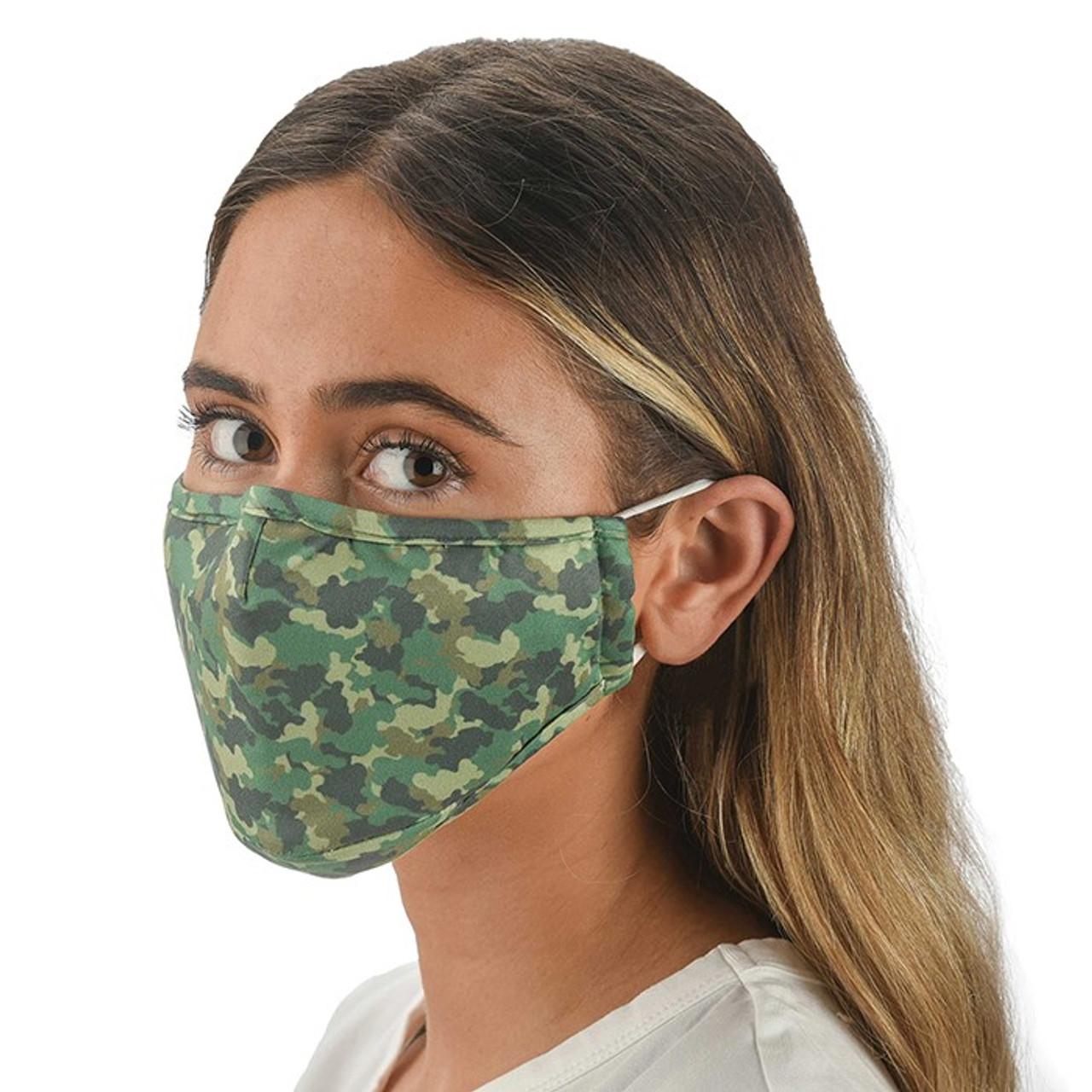 Camo Face Covering