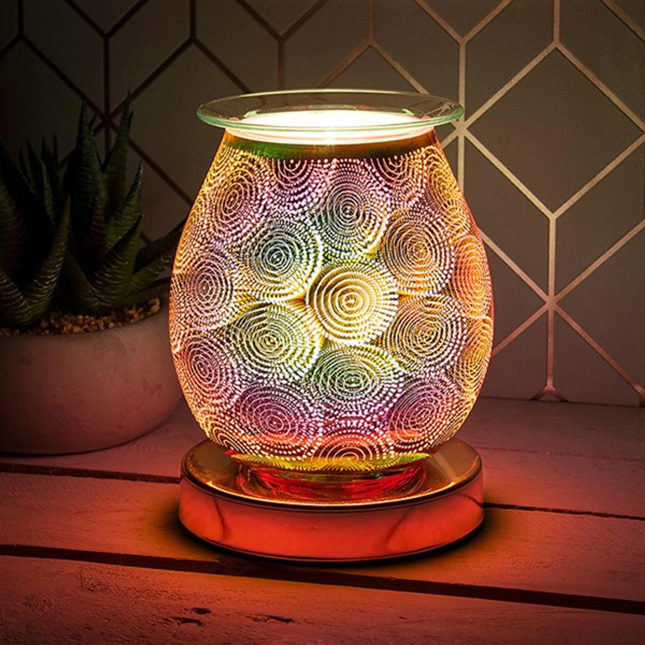 Desire Rose Gold Bulb Lamp Dots