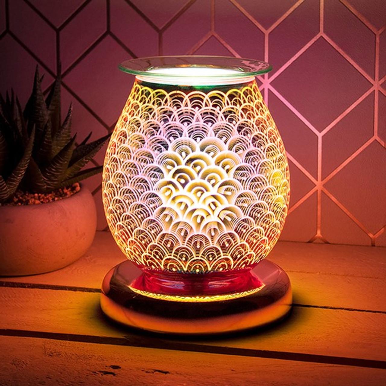 Desire Rose Gold Bulb Lamp Orb