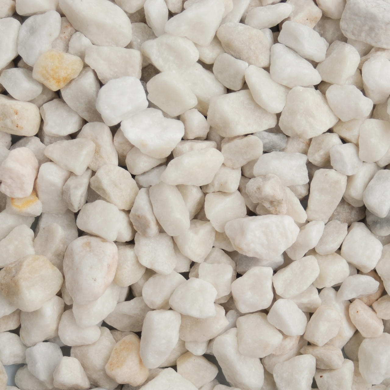 Polar White Chippings 20mm bag - LOCAL DELIVERY ONLY (3 MILE RADIUS)