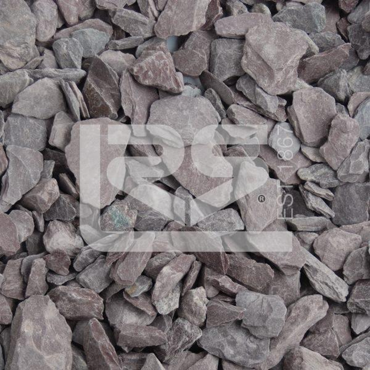 Heritage Stone Plum Slate 40mm Dumpy Bag  -  LOCAL DELIVERY ONLY