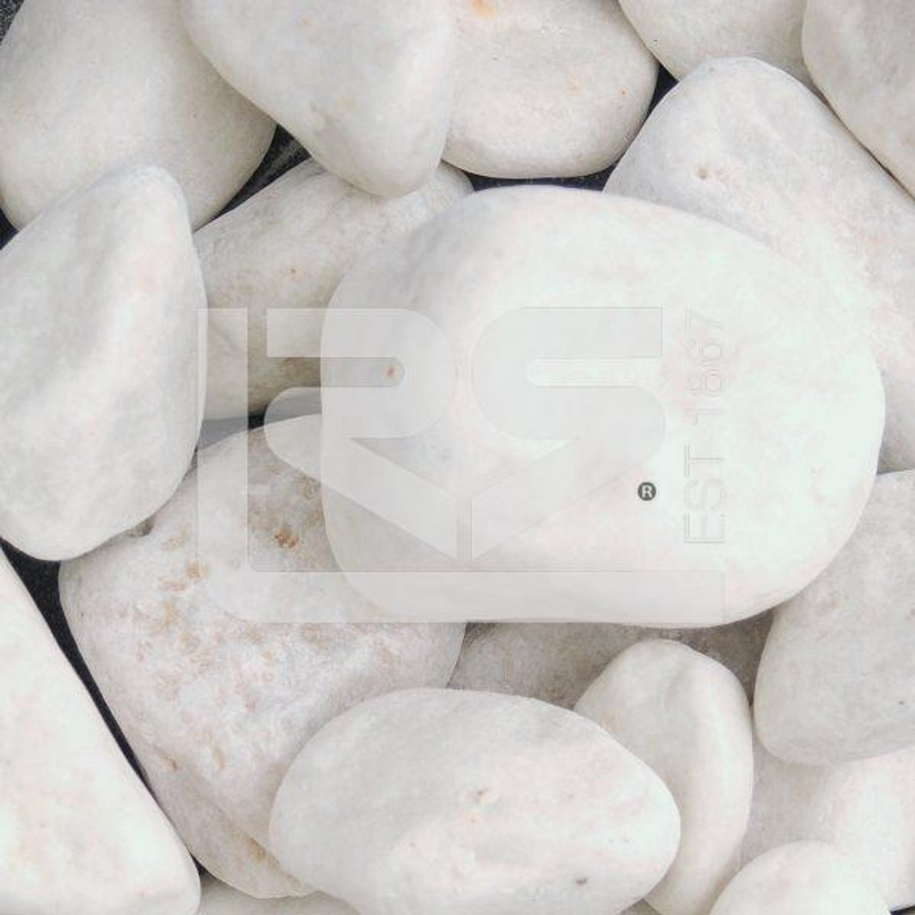 White Cobbles  40-90mm Dumpy Bag- LOCAL DELIVERY ONLY