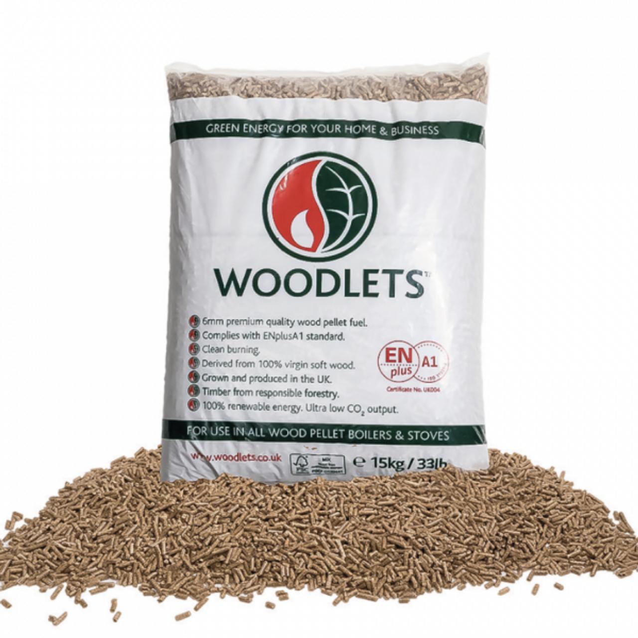 Wood Pellets 15kg