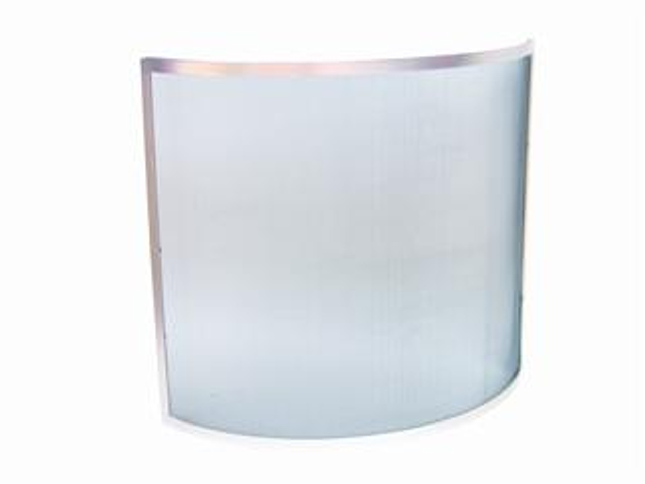 Manor Curved Fire Guard Pewter