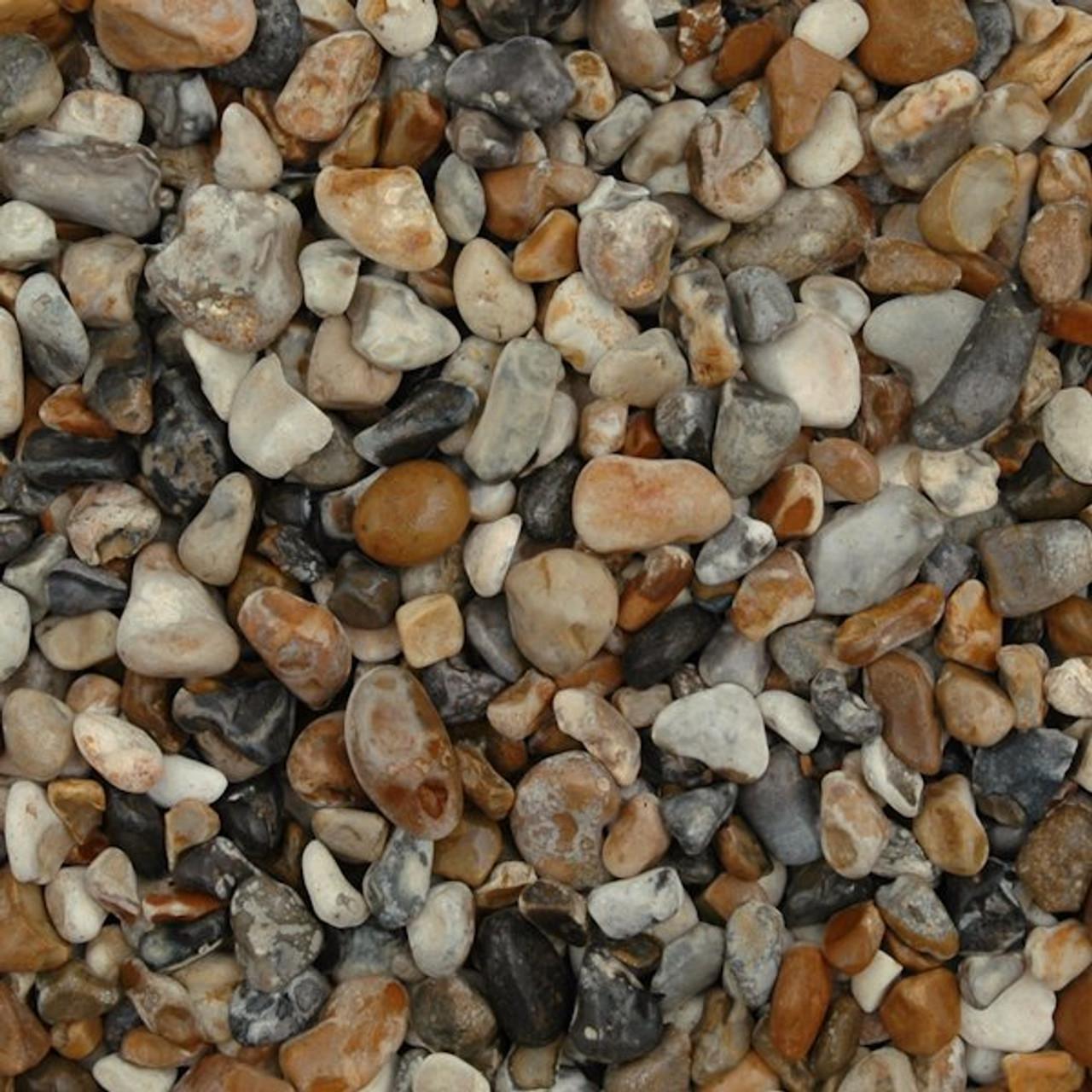 Oyster chippings 20mm garden gravel