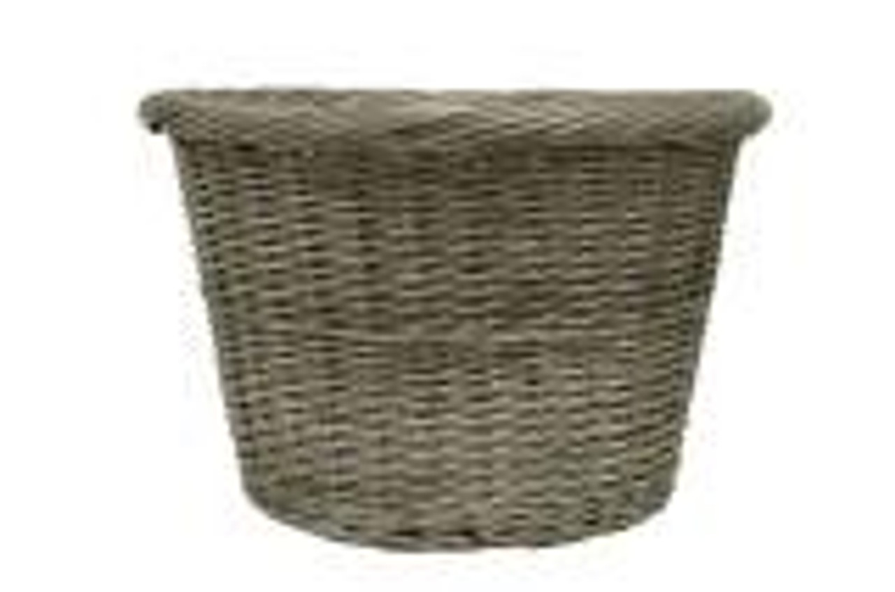 Round Log Basket