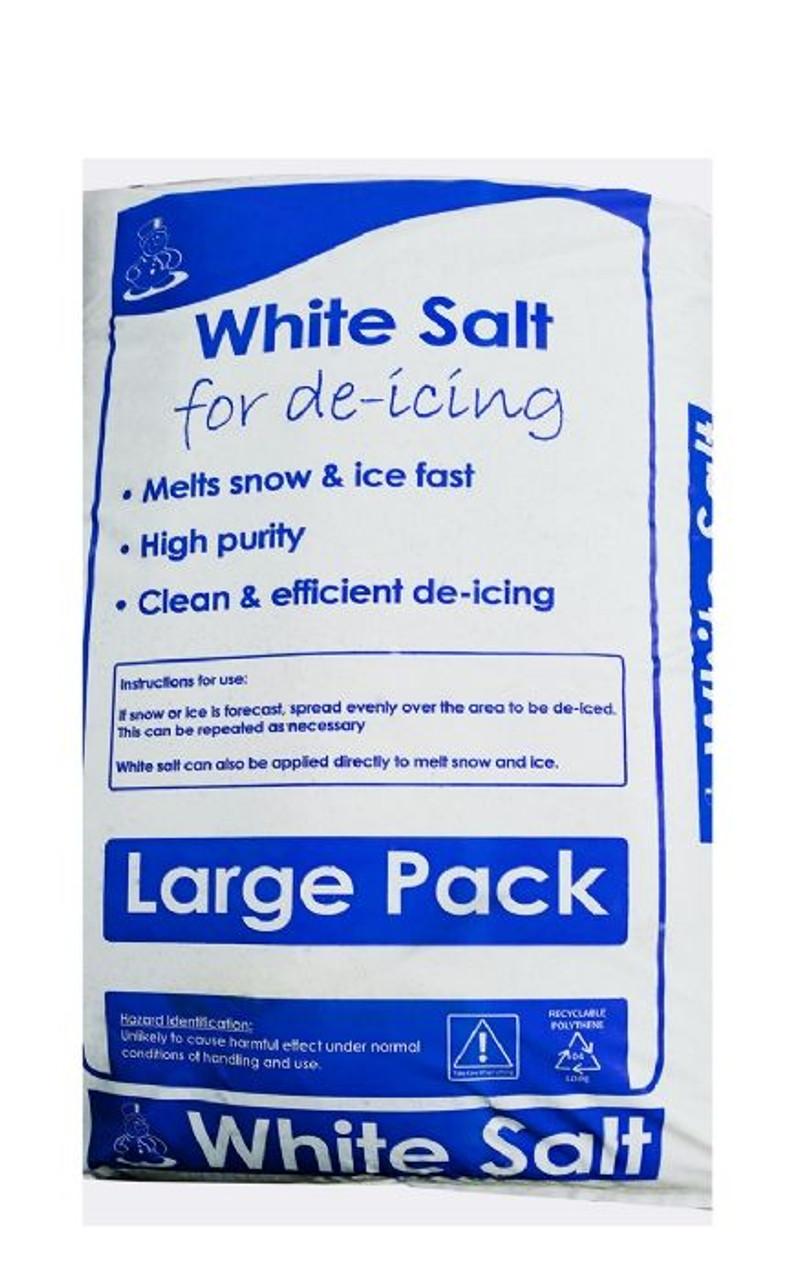 Clean Large White De-Icing Salt 23kg