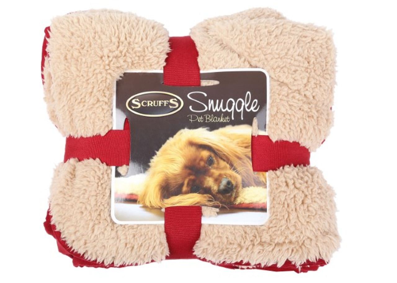 Snuggle Pet Blanket Red
