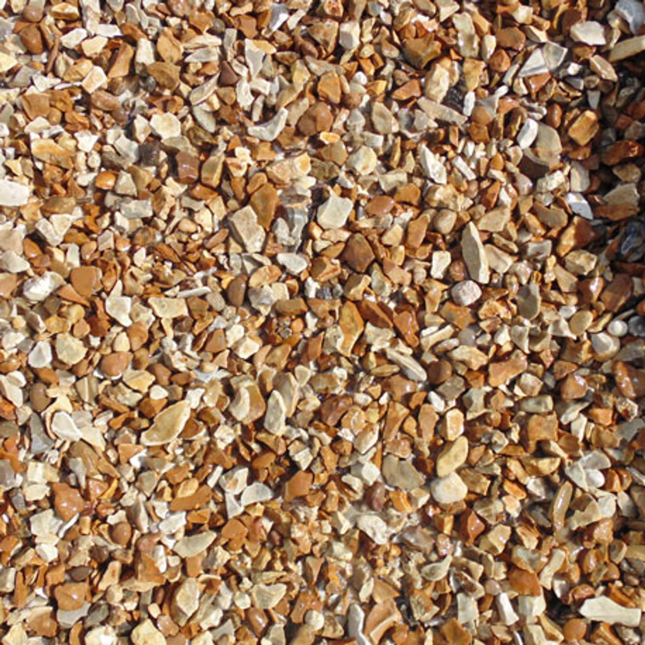Heritage Stone Golden Flint decorative chippings