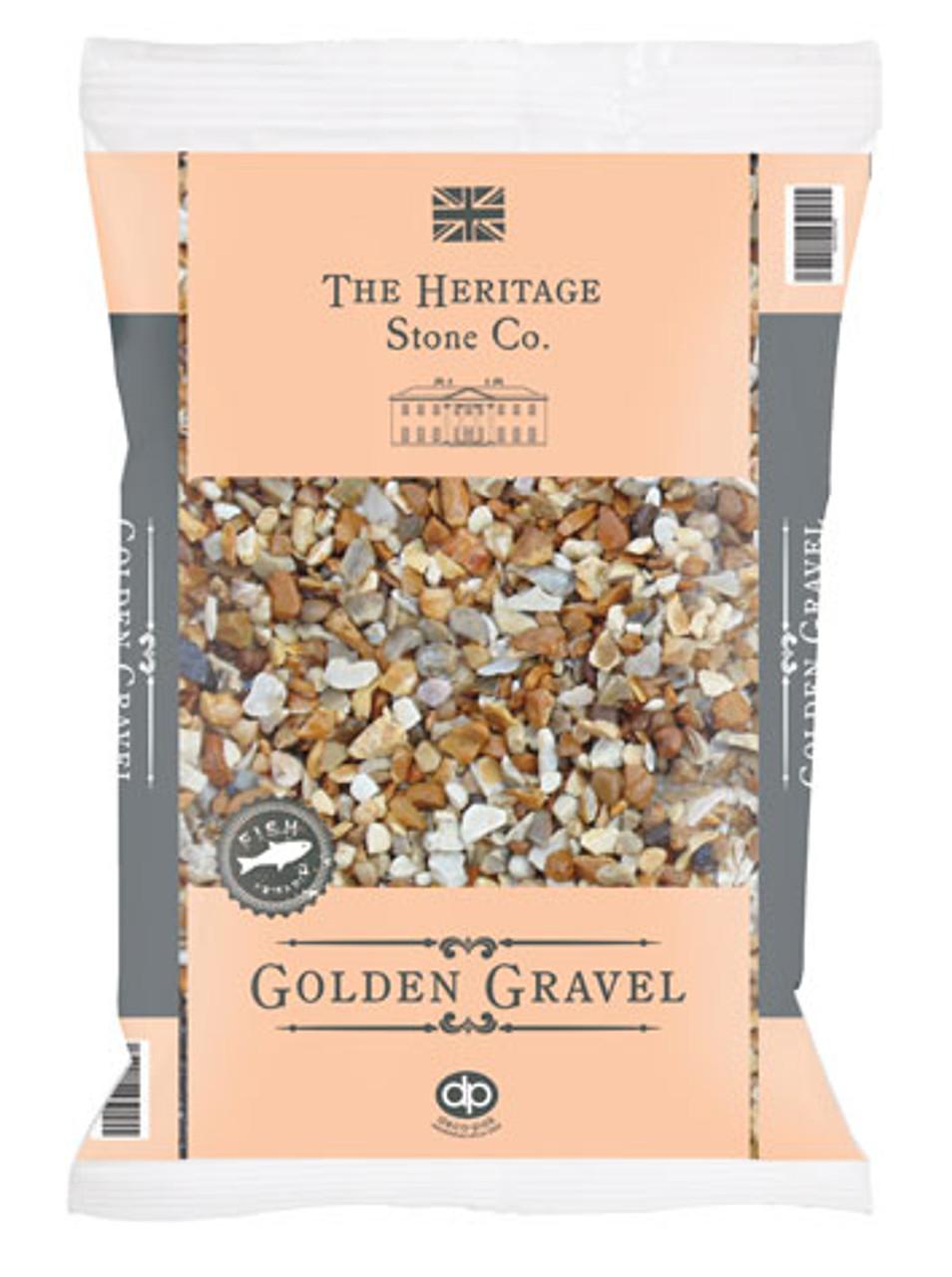 Heritage Stone Golden garden gravel