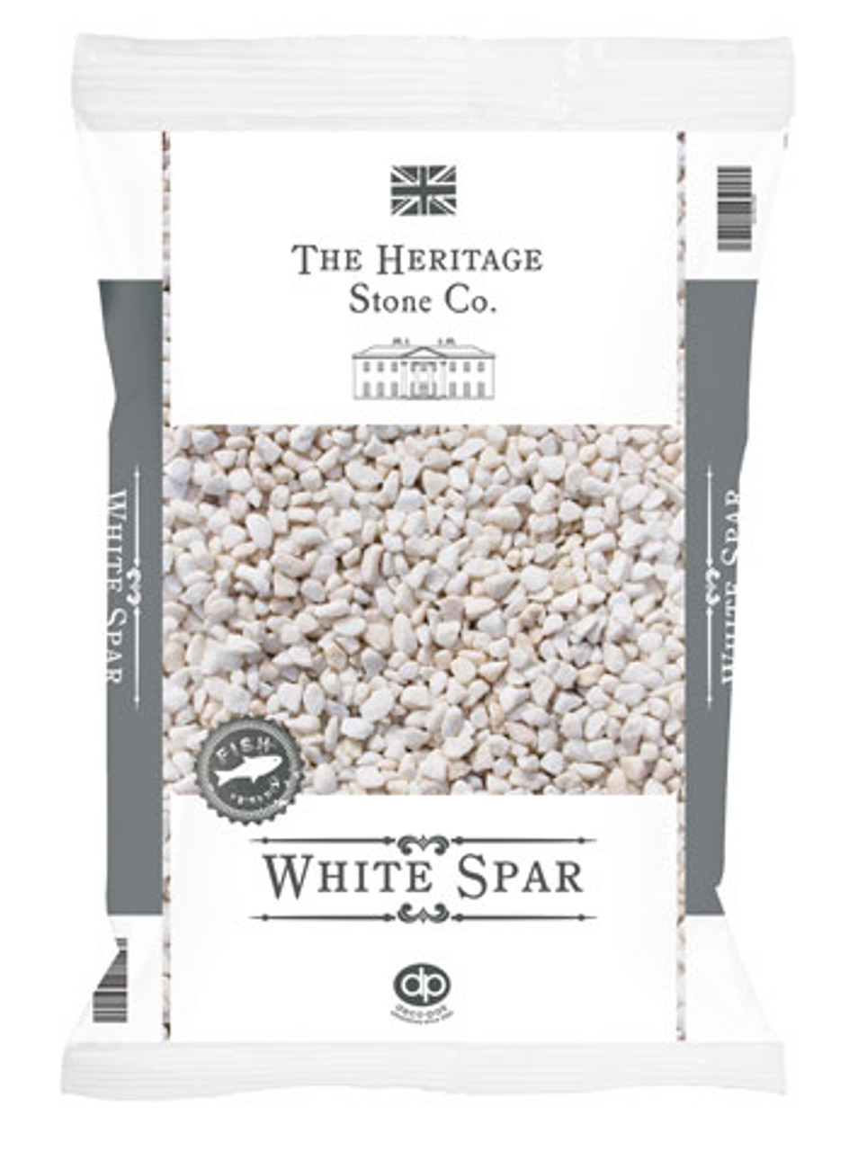 Heritage Stone White Spar decorative gravel