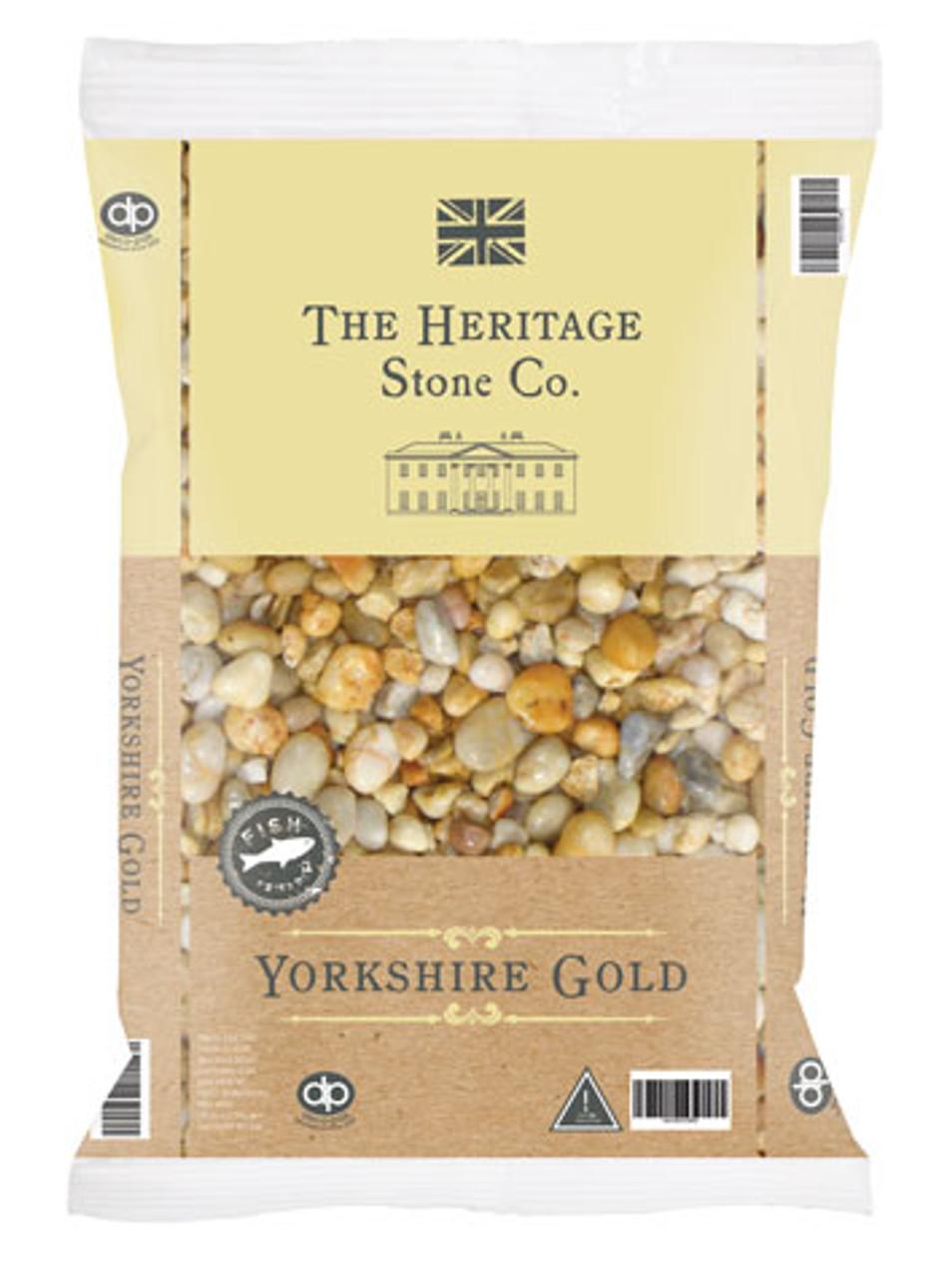 Heritage Stone Yorkshire Gold garden gravel