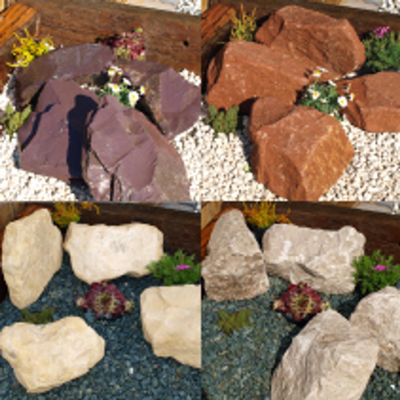 Classic Combination Rockery garden gravel