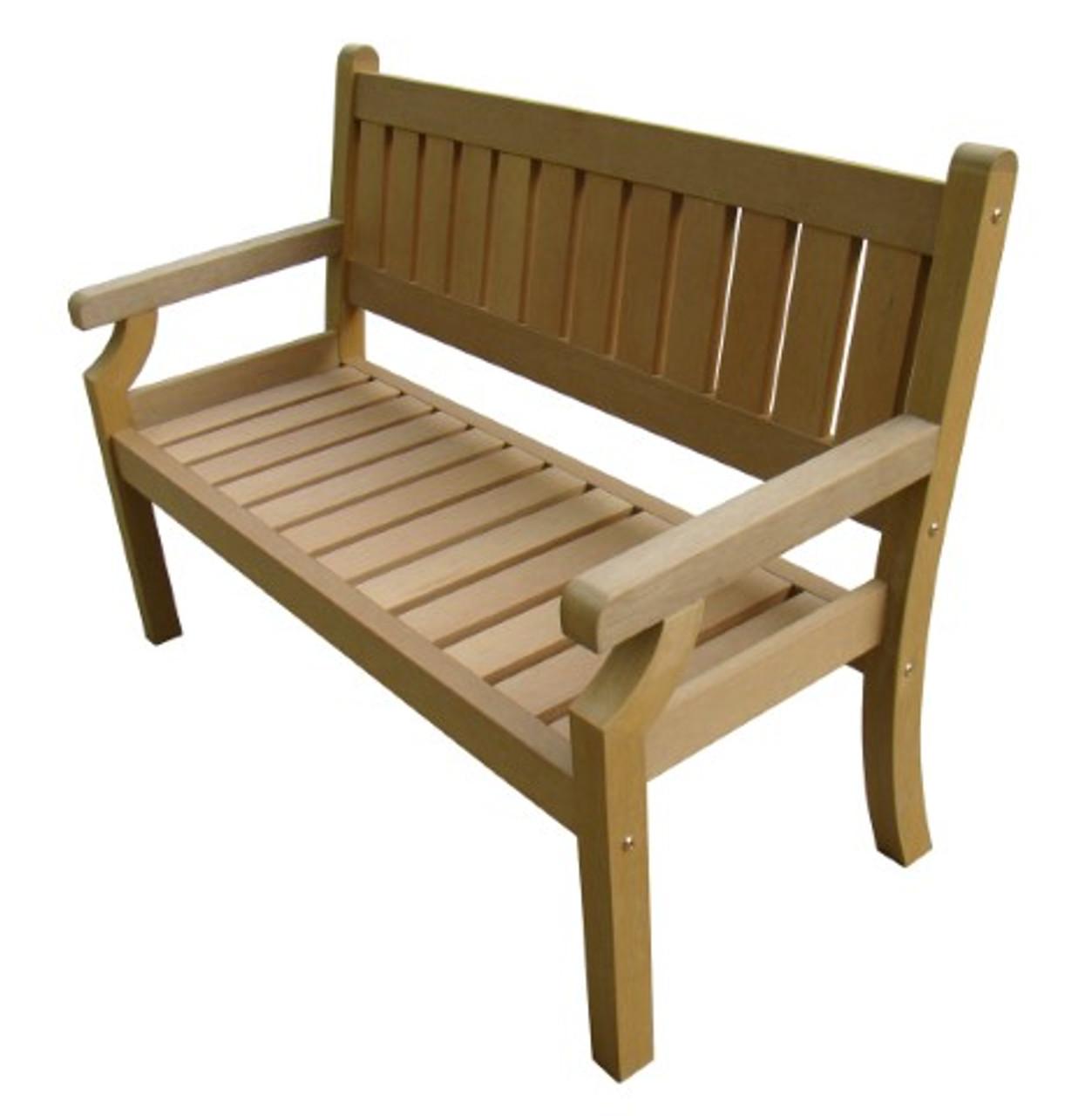 Brandan Polyteak 2 Seat Bench