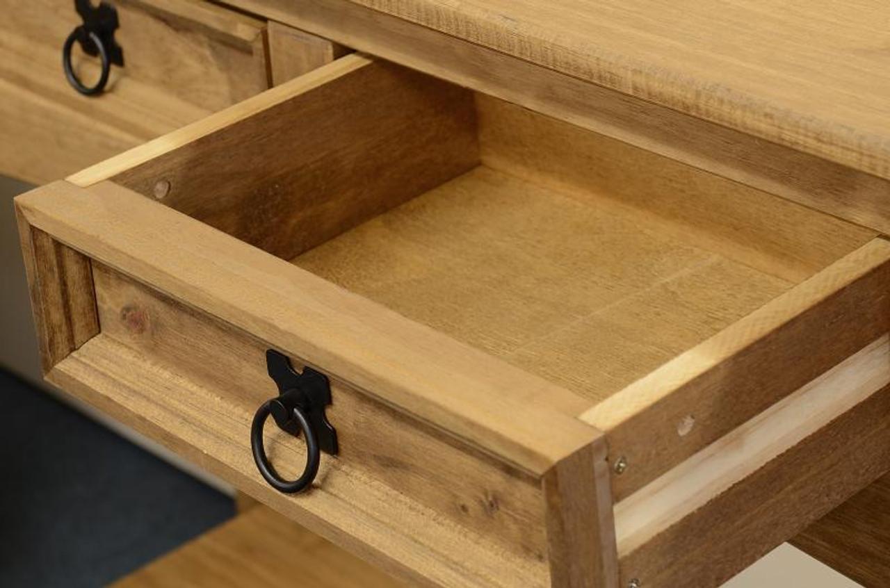 Corona Console Table Pine