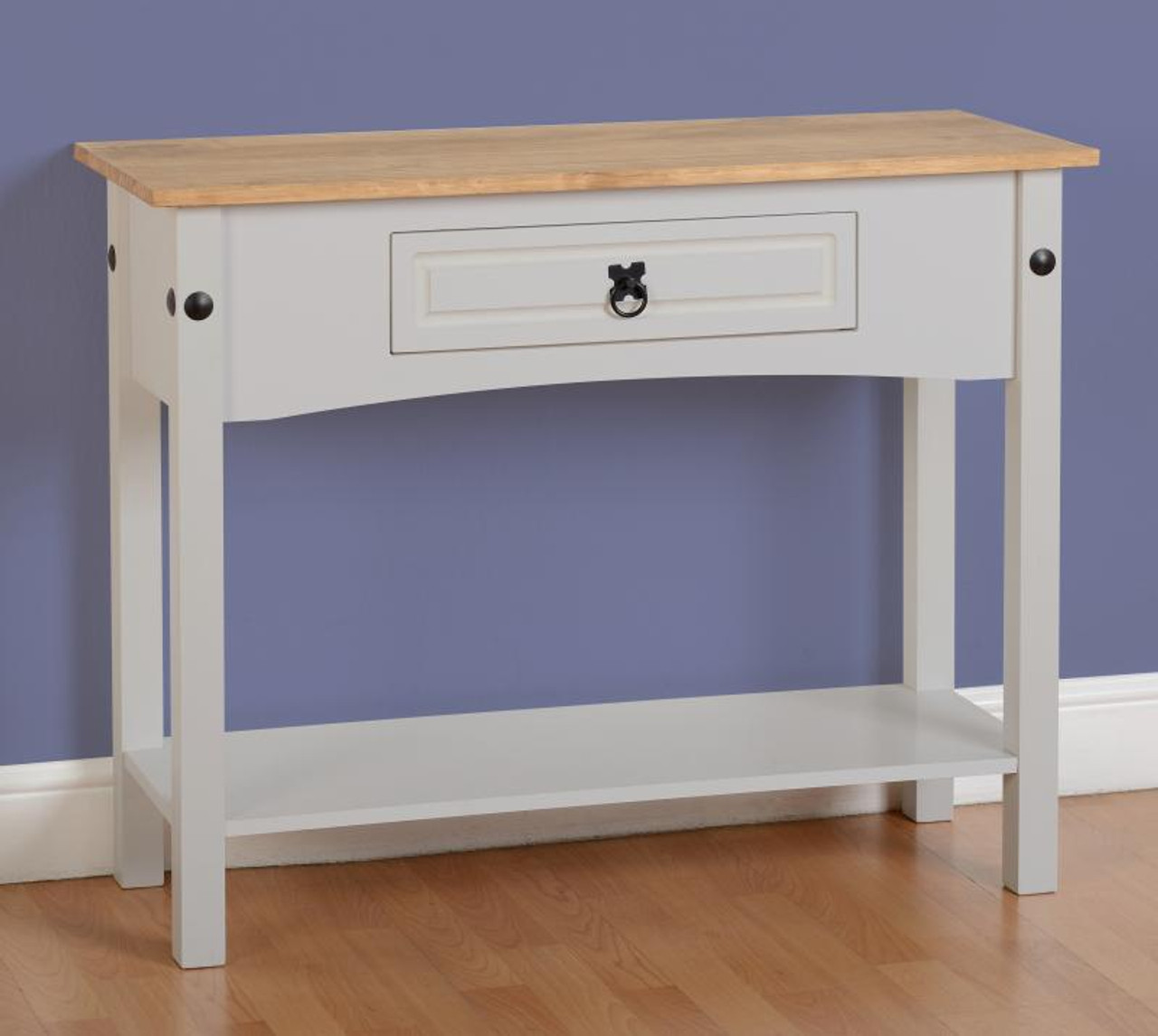 Corona Console Table Grey