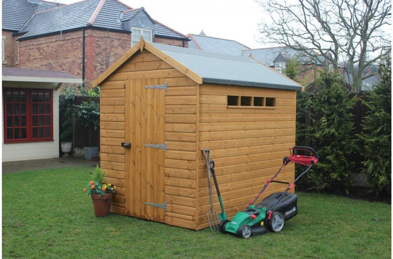 shedlands security apex shed
