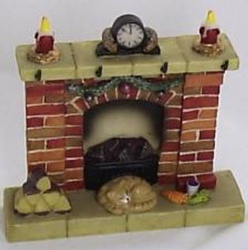 Waiting For Santa Fireplace Medium