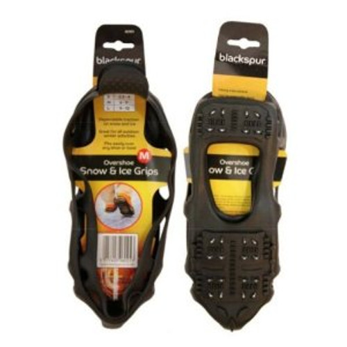 Overshoe Snow And Ice Grips