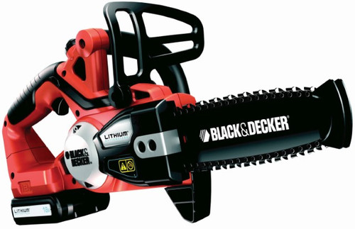 Black and Decker Lithium-ion Cordless Chainsaw 20cm
