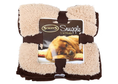 Snuggle Pet Blanket Chocolate