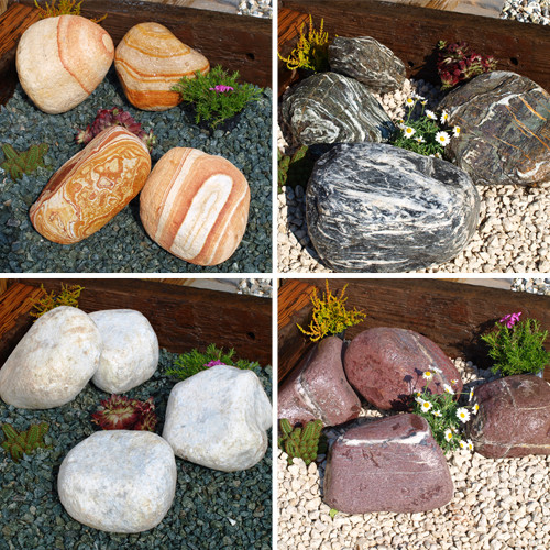Royal Combination Boulders garden gravel