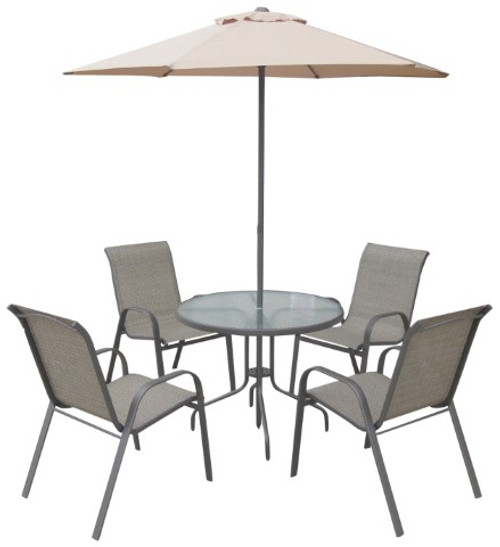 Seville 6 Piece Patio Set