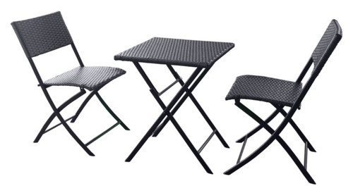 Capri 2 Seater Wicker Bistro Set