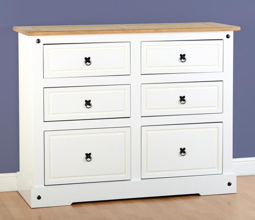 Corona 6 Drawer Chest