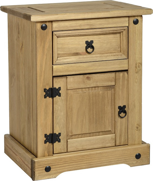 Corona Bedside Chest Pine